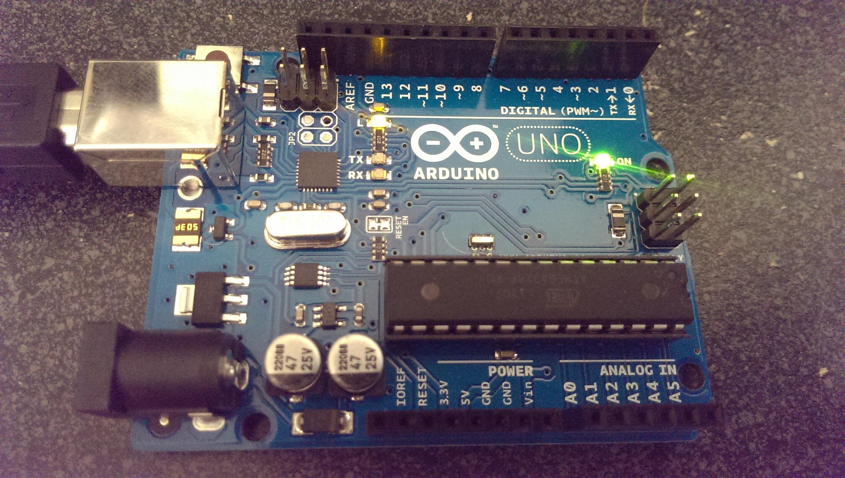 Arduino uno unbox to first program