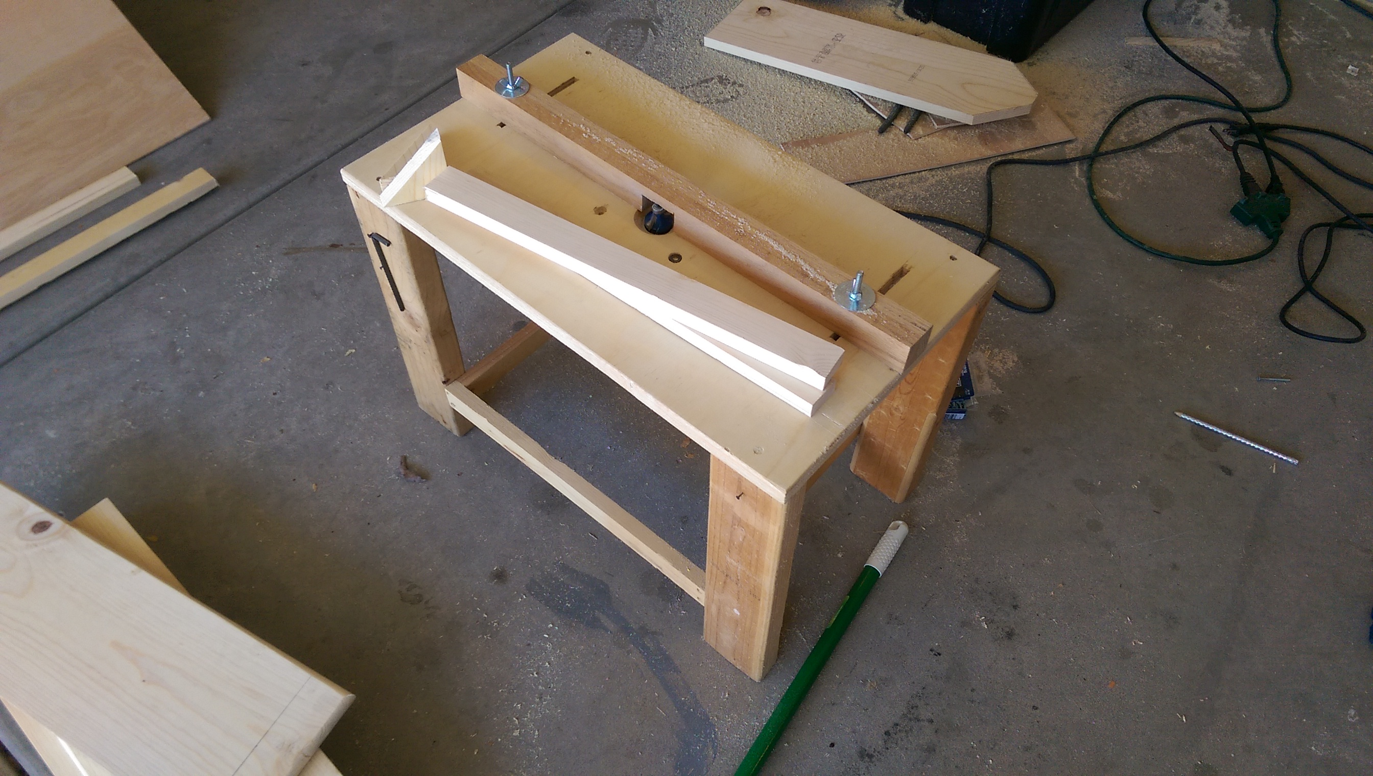 diy mini router table